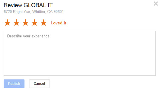 Global IT Google+ Review